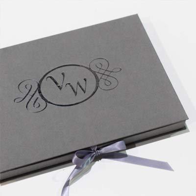 geschenkbox Monogramm